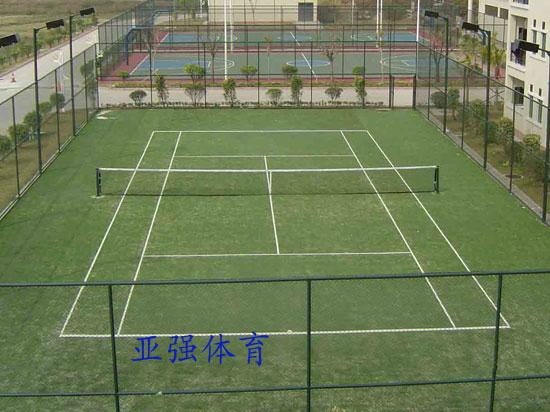 亞強體育施工案例:網球場