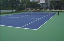 亞強體育施工案例: (gui)pu網球場施工YQ-0016,