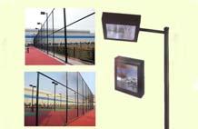 亞強體育施工案例:球場燈光(guang)YQ-003,
