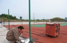 亞強體育施工案例:球場圍網(YQ-003),