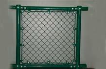 亞強體育施工案例:球場圍網