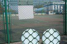 亞強體育施工案例:球場圍網YQ-0022,