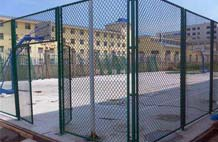 亞強體育施工案例:球場圍網YQ-0023,