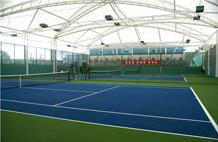 亞強體育施工案例:丙烯酸(suan)網籃球場