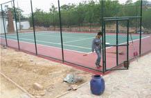 亞強體育施工案例:丙烯酸(suan)網球場施工YQ-007,