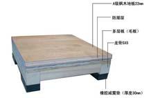 亞強體育施工案例:木地板結構,