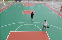 亞強體育施工案例: (gui)pu籃球場,