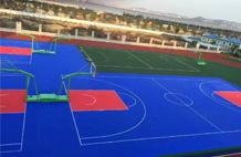 亞強體育施工案例:懸浮式籃球場地板, 懸浮地板